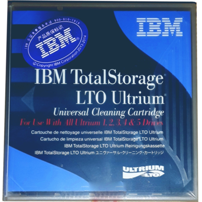 Băng Từ IBM LTO Ultrium Universal Cleaning Cartridge (23R7008)