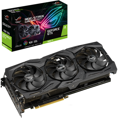Card Màn Hình Asus ROG Strix GeForce GTX 1660 Ti 6GB GDDR6 (ROG-STRIX-GTX1660TI-6G-GAMING)
