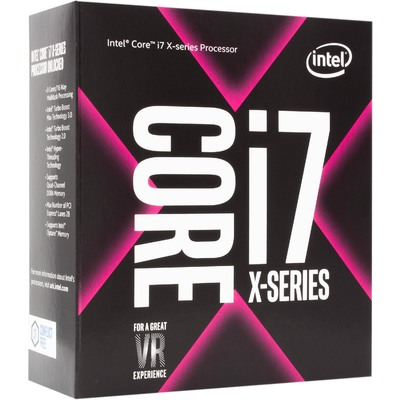 CPU Máy Tính Intel Core i7-7820X 8C/16T 3.60GHz Up to 4.30GHz 11MB Cache (Socket Intel LGA 2066)