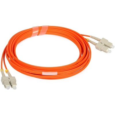 Dây Cáp Quang CommScope Fiber Optic Patch Cord/Duplex/Multimode/SC-SC/Orange/3 Mét (2105050-3)