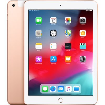 Máy Tính Bảng Apple iPad 2018 6th-Gen 128GB 9.7-Inch Wifi Cellular - Gold (MRM22ZA/A)