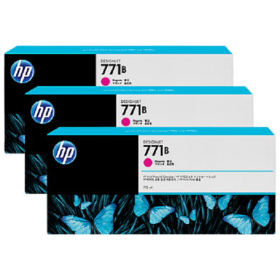 Mực In HP 771B Magenta Ink Cartridge 3-Pack (B6Y25A)