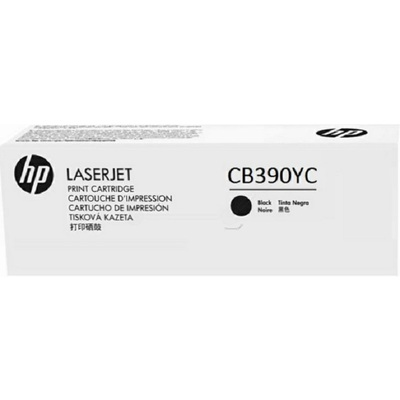 Mực In Laser Màu HP Optimized Yield Black Contract Original LaserJet Toner Cartridge (CB390YC)