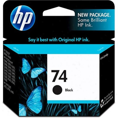 Mực In Phun HP 74 Black Original Ink Cartridge (CB335WA)
