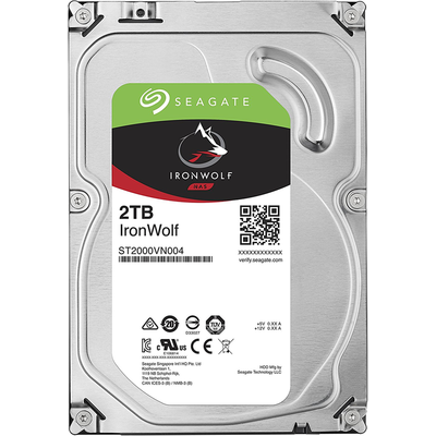 "Ổ Cứng HDD 3.5"" Seagate IronWolf 2TB NAS SATA 5900RPM 64MB Cache (ST2000VN004)"