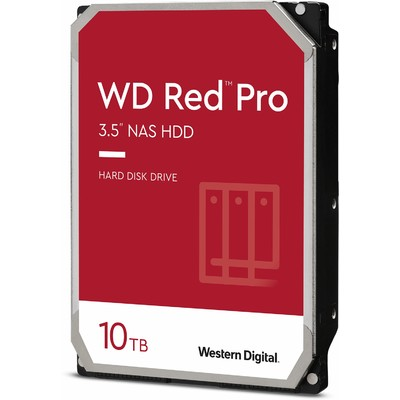 "Ổ Cứng HDD 3.5"" WD Red Pro 10TB NAS SATA 7200RPM 256MB Cache (WD102KFBX)"