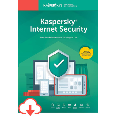 Phần Mềm Diệt Virus Kaspersky Internet Security (5 Devices / 1 Year)