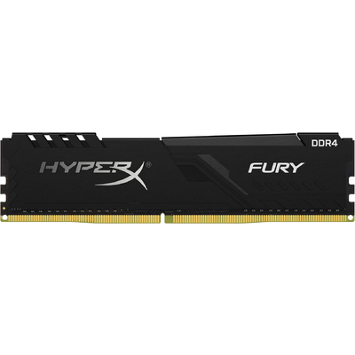 Ram Desktop Kingston HyperX Fury Black 8GB (1x8GB) DDR4 2666MHz (HX426C16FB3/8)