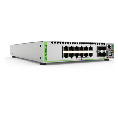 Thiết Bị Chuyển Mạch Allied Telesis Stackable L3 16-Port 10G With 12-Port x 10G/1G SFP+ And 4-Port 10G/1G (AT-XS916MXS)