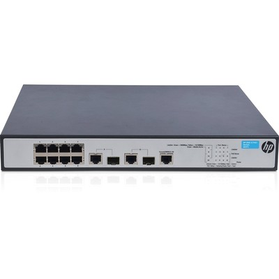 Thiết Bị Chuyển Mạch HPE OfficeConnect 1910 8 PoE+ (JG537A)